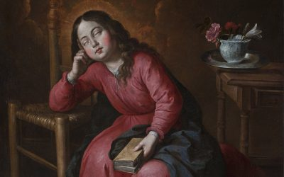 FORBES LIFE MEXICO. AUTHOR CARMEN REVIRIEGO. THE SLEEPING YOUNG VIRGIN BY ZURBARÁN