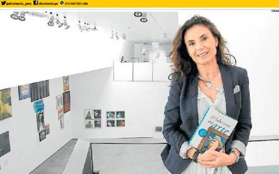 EL COMERCIO. INTERVIEW WITH CARMEN REVIRIEGO. ART REMINDS US THAT WE ARE CAPABLE OF BEING MOVED