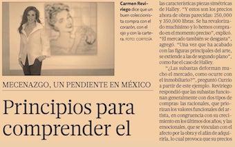 EL ECONOMISTA. PRINCIPLES IN ORDER TO UNDERSTAND THE ART MARKET